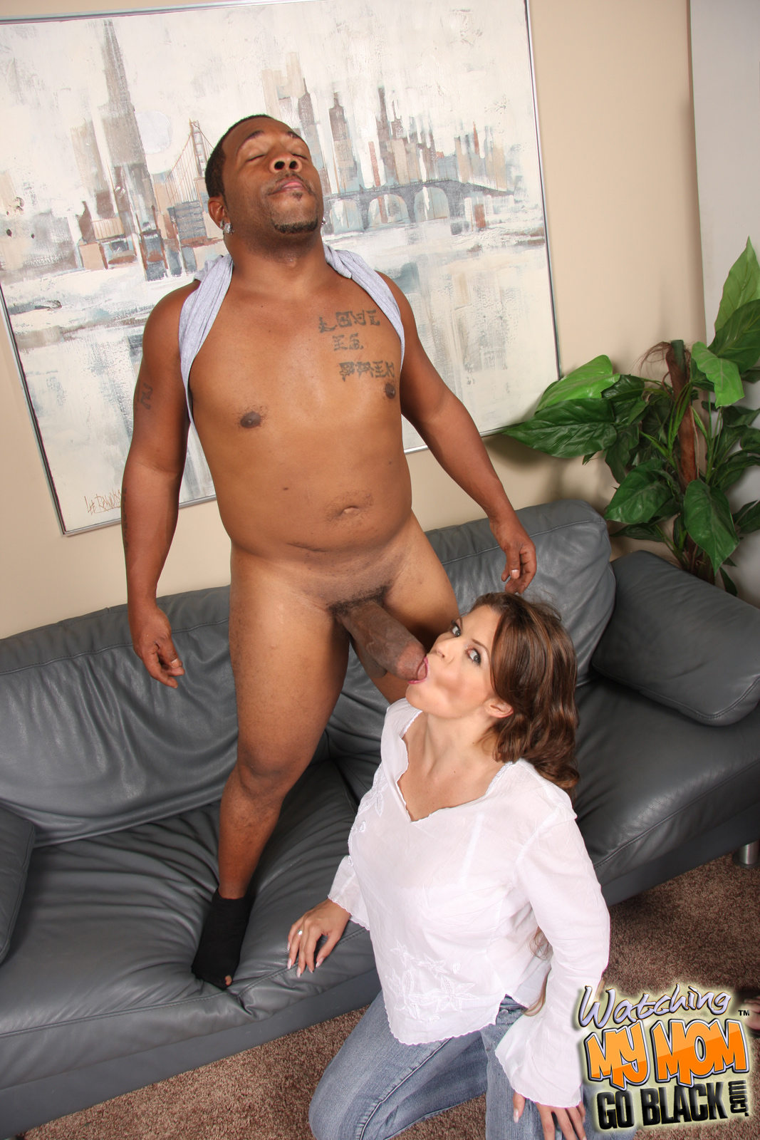 free porn samples of watching my mom go black - white mom fucked