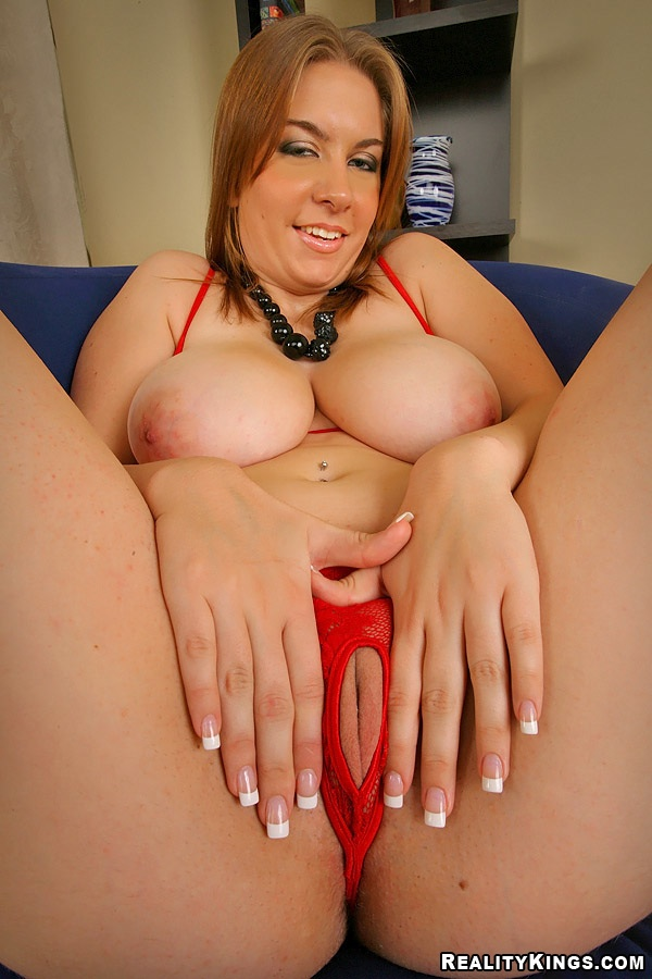 Amateur big kali west naturals