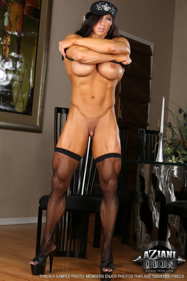 Women with strong body nude photos very hot