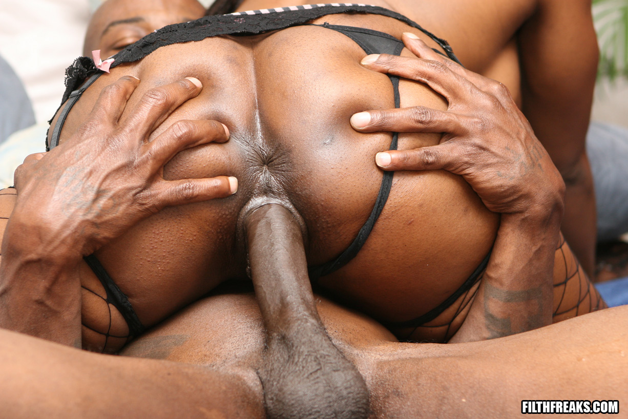 Fat black freaks homemade