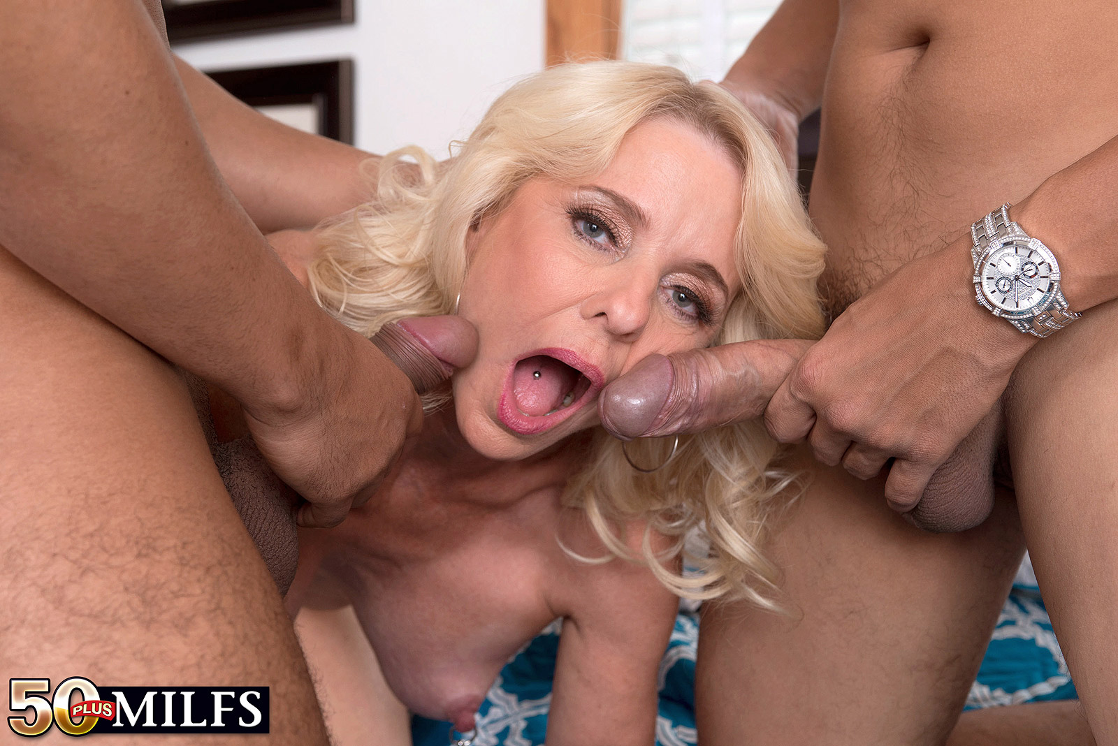 Milf guys fuck older women