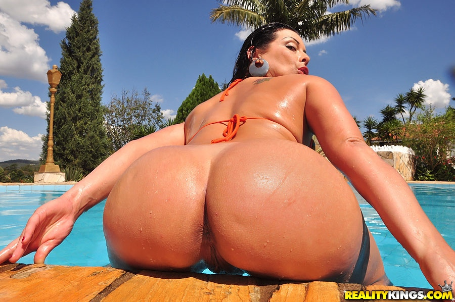 Big Butt Brazilian Milf