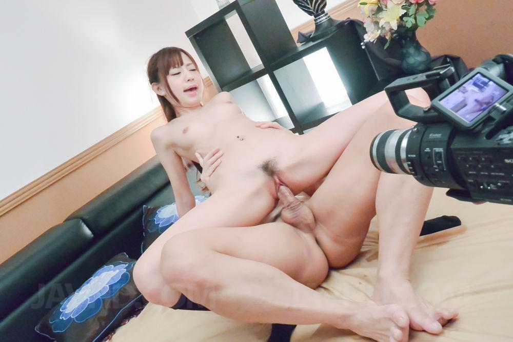 Shiori ayase sucks dick and is fucked at sea