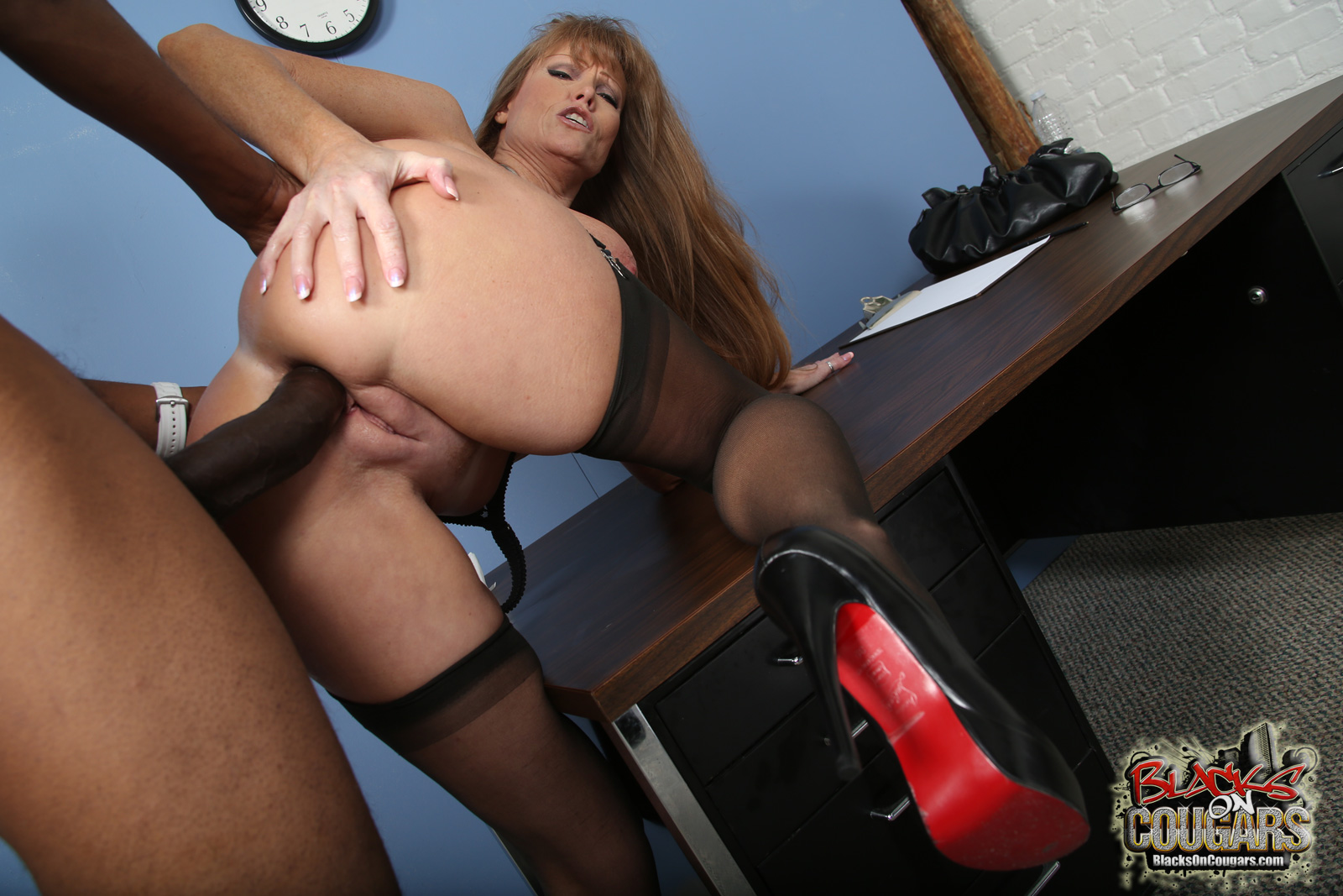Casey cumz watches her mom gets creampied by a bbc 1
