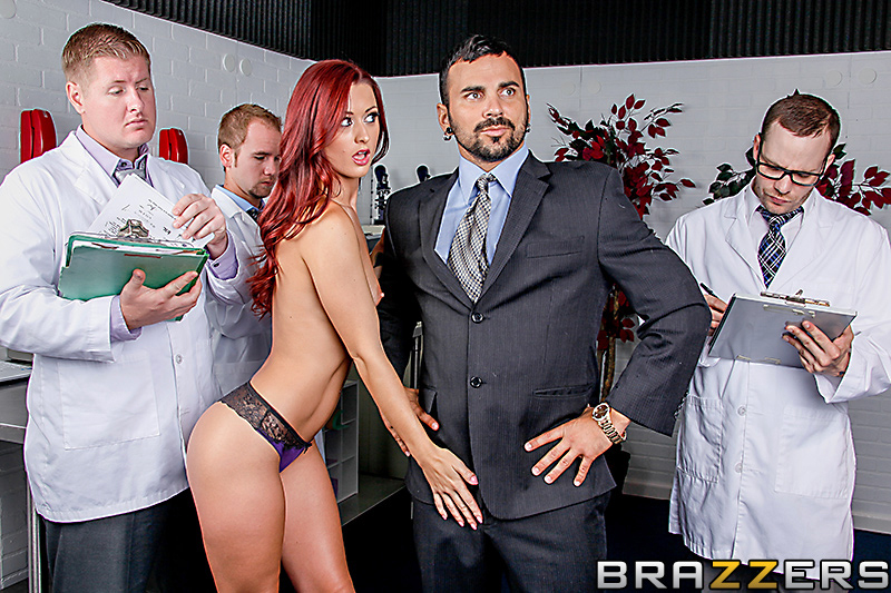 Alexis monroe gets invited to a nudist spa and loves it 5