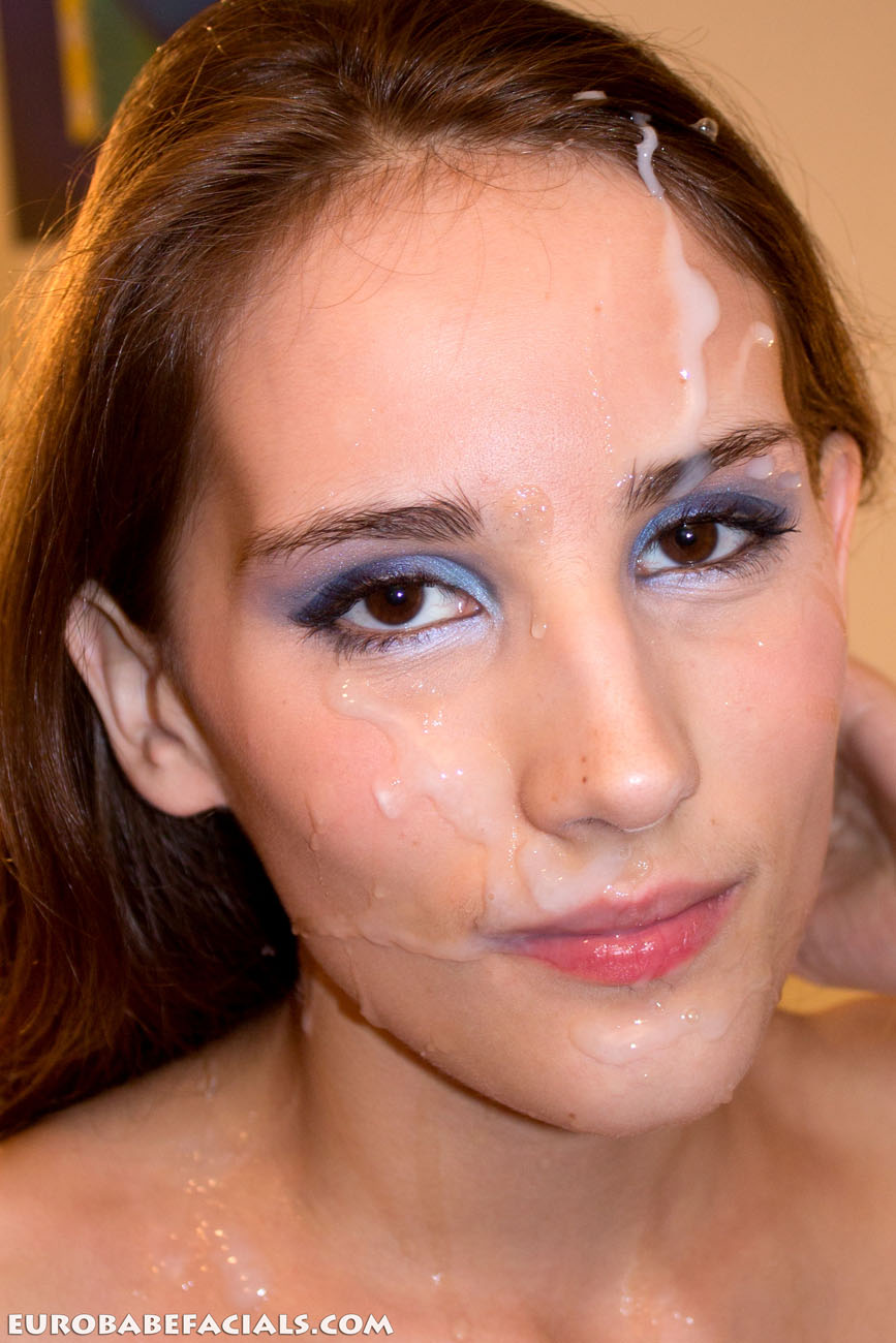 Babe Facial Porn free porn samples of euro babe facials - shameless euro
