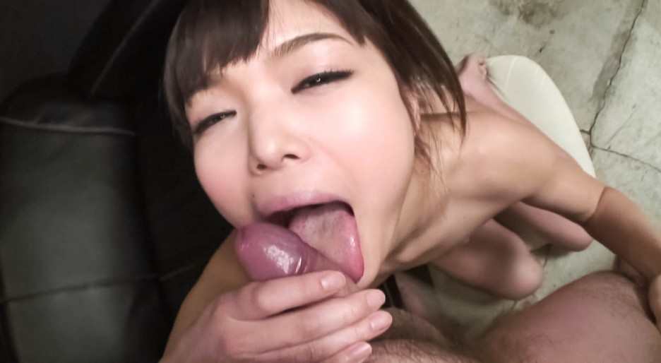Tomomi strongly pumped by two fellows 9