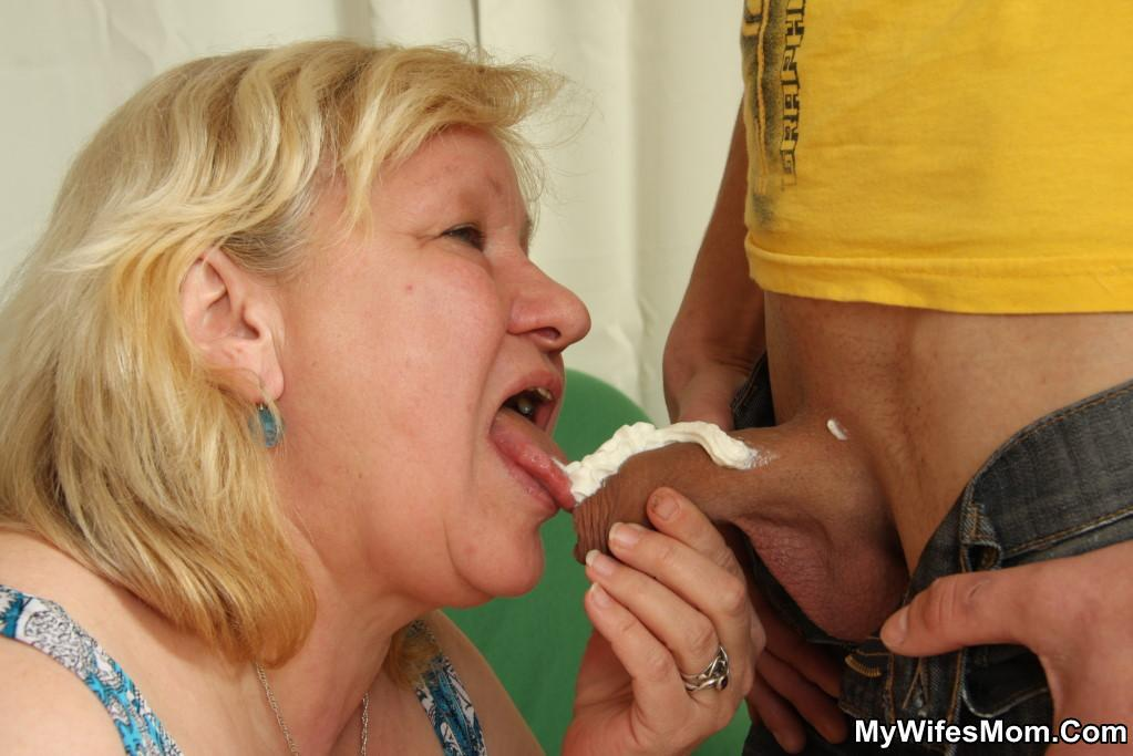 Mother lusts for sons cock