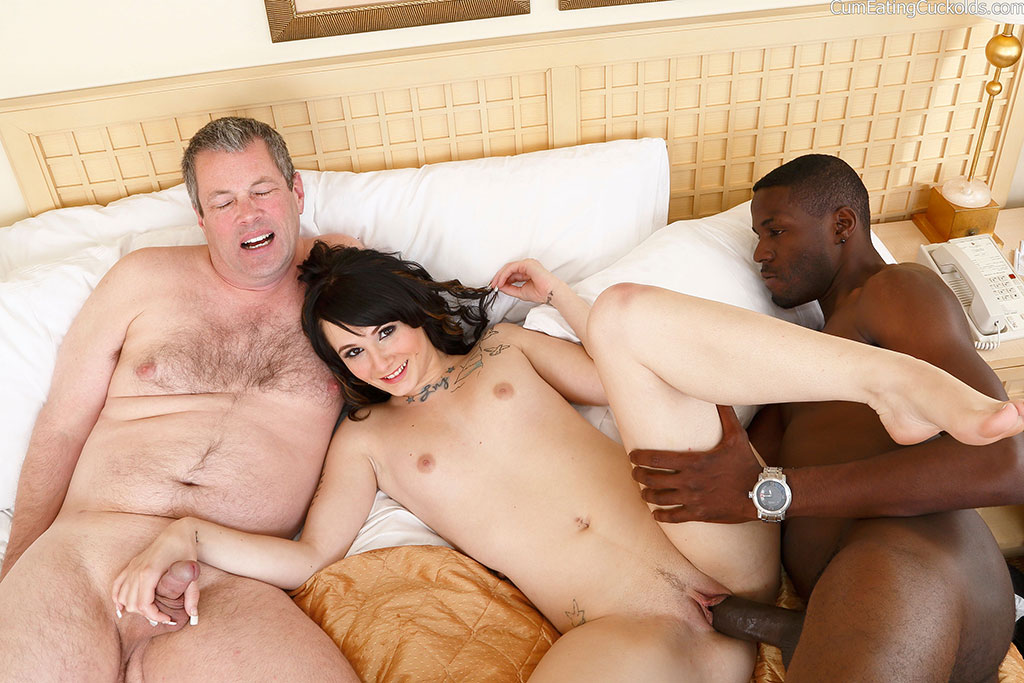 Cuckold interracial hubby