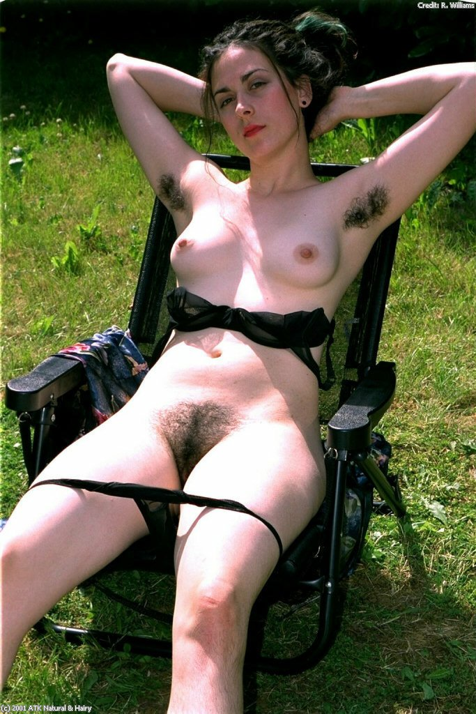 Pussy natural hairy hot