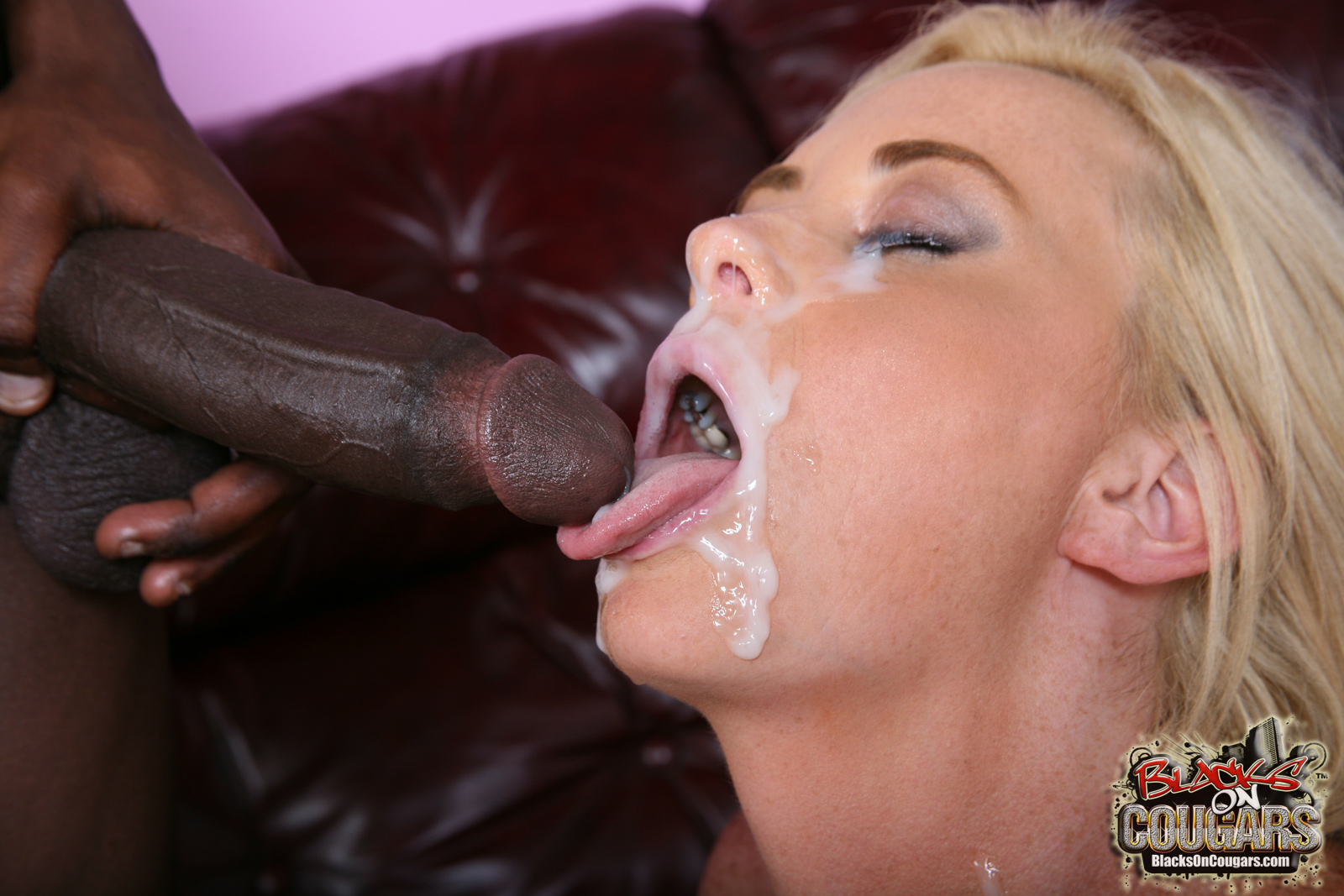 Fucking blondes cock monster