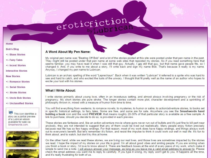 Lubrican erotic stories