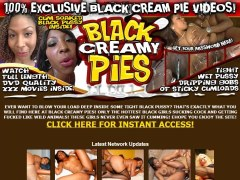 Black Creamy Pie