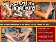 Naughty Footjobs